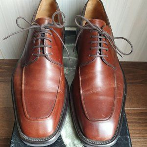 👞 Magnanni leather men fall shoes mid-brown